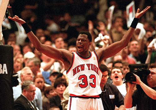 Ewing Pumps Up The Crowd