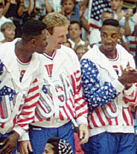 Ewing Was A Member Of The Original Dream Team