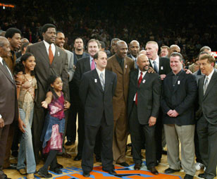 Ewing With Friends And Family On Ewing Night