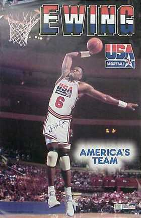 Ewing Was A Part Of The Original Dream Team