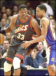 Ewing Backs Down Former Teammate Camby